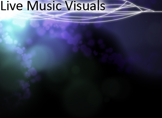 live music visuals